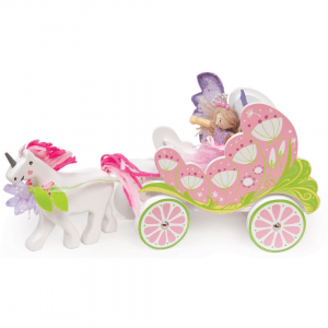 Le Toy Van Fairybelle Carriage and Wooden Unicorn - Educational Toys Online