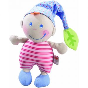 HABA Pure Nature Doll Leafy Pixie (Blue)
