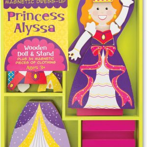 Melissa and Doug Princess Alyssa Magnetic Dress-Up - Educational Toys Online