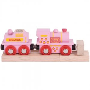 Bigjigs Pink Engine - Educational Toys Online