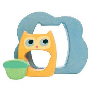 PETILOU Owly Woo 3pc Puzzle - Educational Toys Online