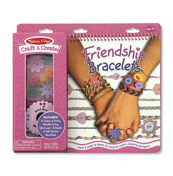 Melissa and Doug Craft & Create Friendship Bracelets
