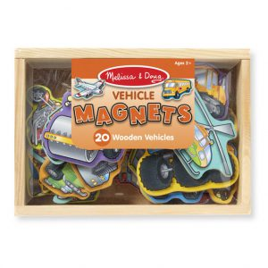 Melissa and Doug Wooden Vehicle Magnets