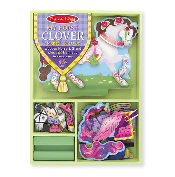 Melissa and Doug My Horse Clover Magnetic Dress-Up Set