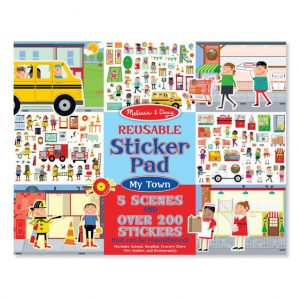 Melissa and Doug Reusable Sticker Pad - My Town