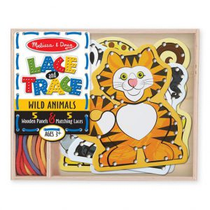 Melissa and Doug Lace and Trace Wild Animals
