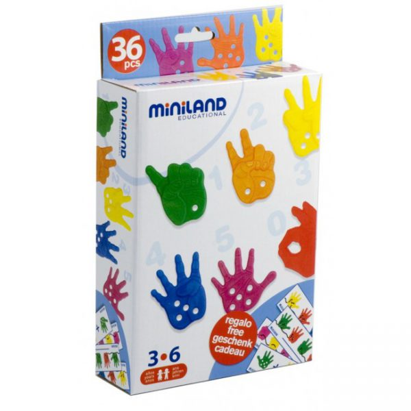 Miniland Hands for Counting and Threading