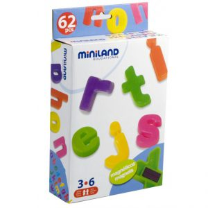Miniland Magnetic Lower Case Letters