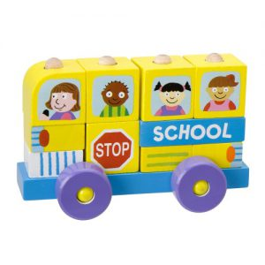 Alex Block Roll School Bus