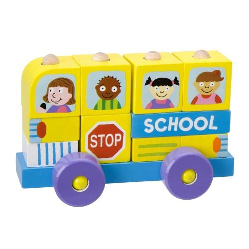 Alex Block Roll School Bus