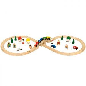Bigjigs Figure Eight Train Set - Educational Toys Online