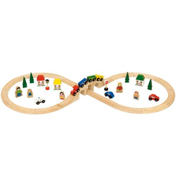 Bigjigs Figure Eight Train Set
