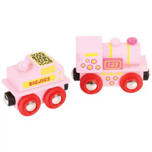 Bigjigs Pink Engine