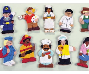 Careers Finger Puppets