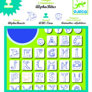 Djeco Alphabeasts Stamps