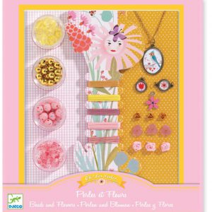Djeco Beads and Flowers Jewellery Kit
