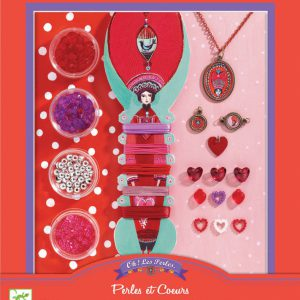 Djeco Beads and Hearts Jewellery Kit - Educational Toys Online
