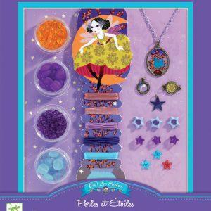 Djeco Beads and Stars Jewellery Kit