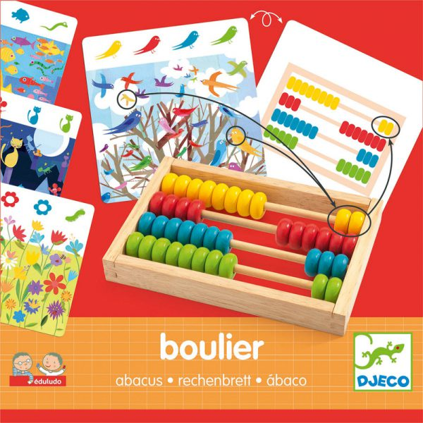 Djeco Eduludo Abacus Numbers - Educational Toys Online