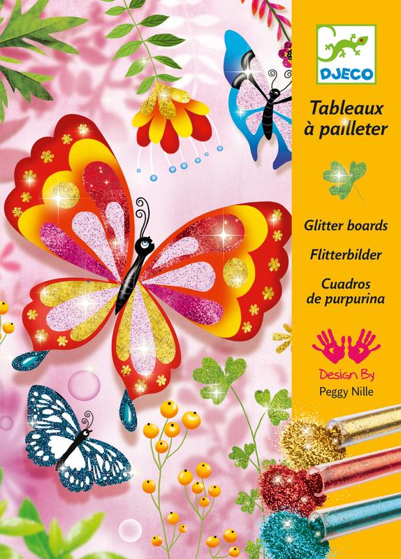 Djeco Glitter Butterflies