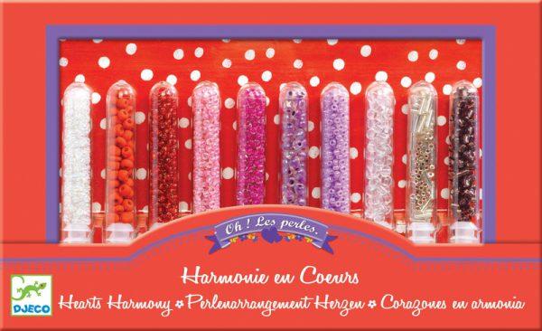 Djeco Hearts Harmony Beads