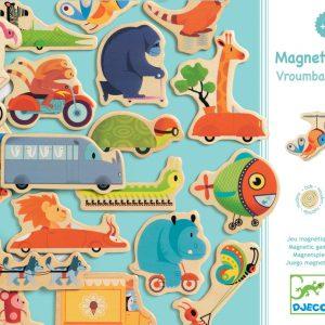 Djeco Magnetic VroumBazar