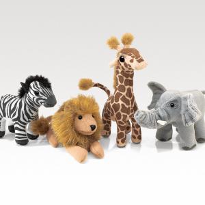 Folkmanis African Wildlife Playset - Educational Toys Online