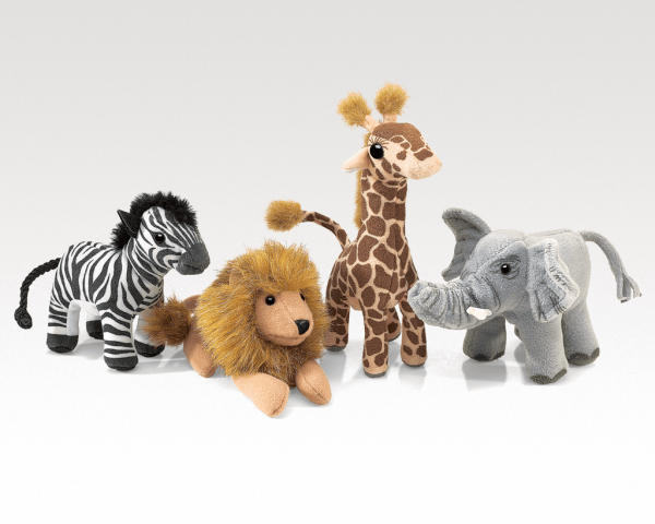 Folkmanis African Wildlife Playset
