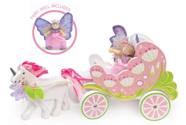 Le Toy Van Fairybelle Carriage and Unicorn - Educational Toys Online