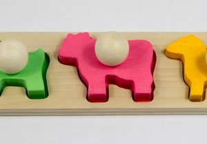 MamaGenius Animal Shape Board