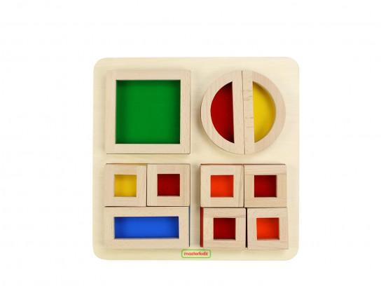 MasterKidz Rainbow Block Set