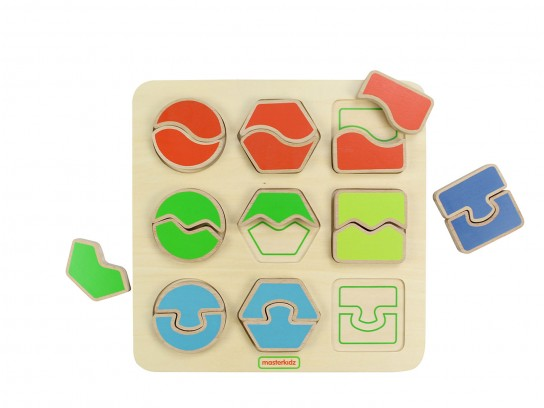 MasterKidz Shape Matching Puzzle