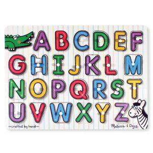 Melissa and Doug Alphabet Peg Puzzle