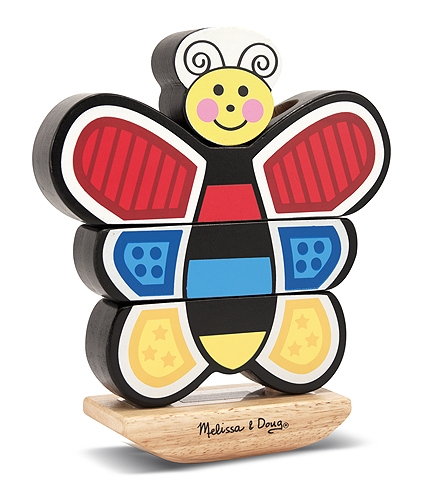 Stacking Butterfly Toy - Melissa and Doug