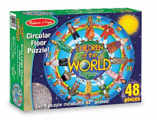 Melissa and Doug Children Around the World Floor Puzzle
