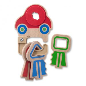 Melissa and Doug Clacking Keyring