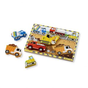 Melissa and Doug Construction Chunky Puzzle - Educational Toys Online