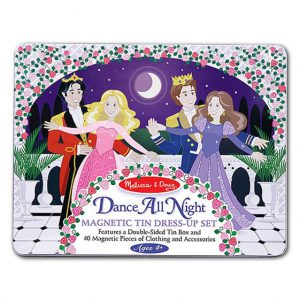 Melissa and Doug Dance All Night Princess Magnetic Set