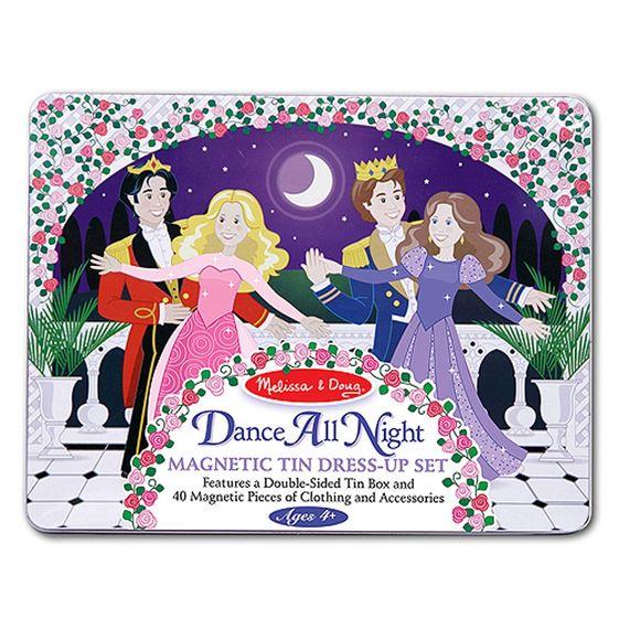 Melissa and Doug Dance All Night Princess Magnetic Set