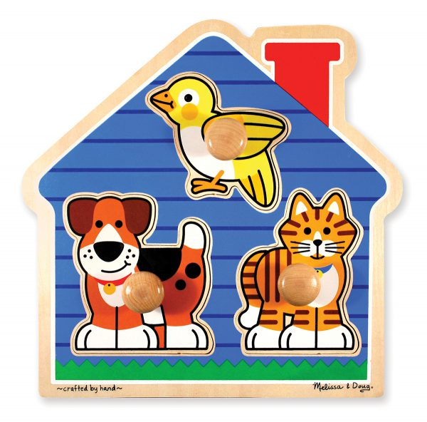 Melissa and Doug House Pets Puzzle