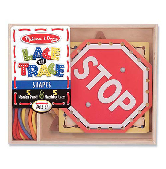 Melissa and Doug Lace and Trace Shapes