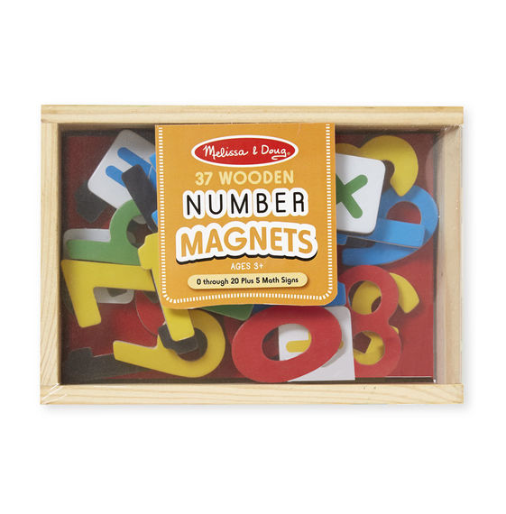 Melissa and Doug Magnetic Wooden Numbers - Educational Toys Online