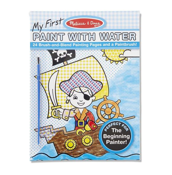 Melissa and Doug My First Paint with Water Boy