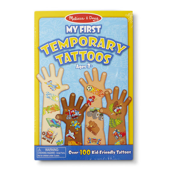 Melissa and Doug My First Temporary Tattoos Boy