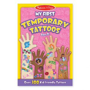 Melissa and Doug My First Temporary Tattoos Girl