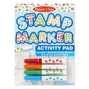 Melissa and Doug Stamp Marker Activity Pad Blue