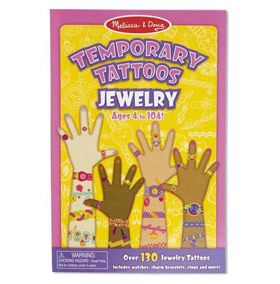 Melissa and Doug Temporary Tattoos Jewelry