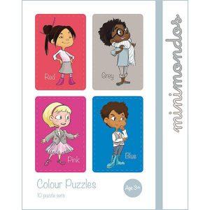 MiniMondos 10 Colour Puzzle Set