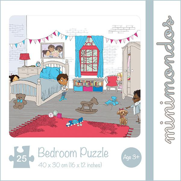 MiniMondos Bedroom Puzzle Set