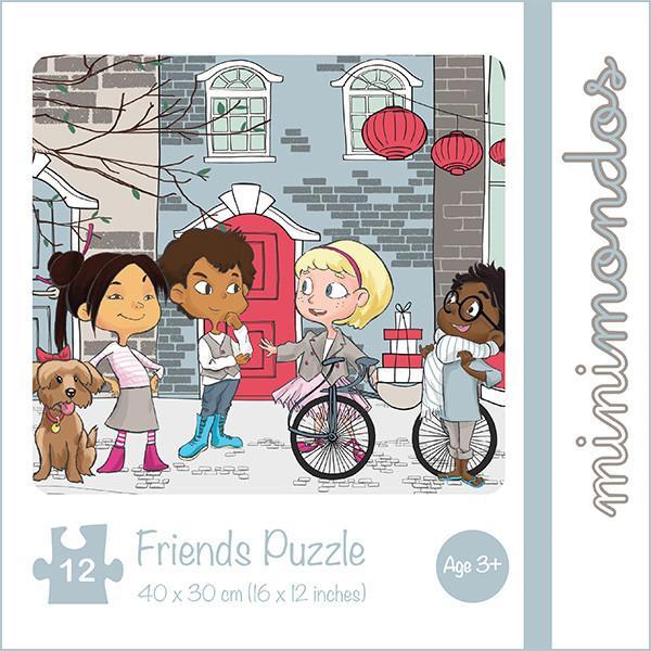MiniMondos Friends Puzzle Set